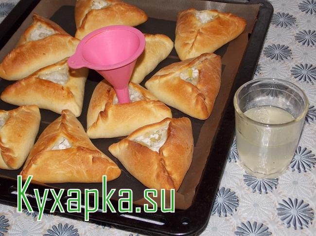 Тартарский пирожок: эчпочмак с курицей на Kyxapka.su