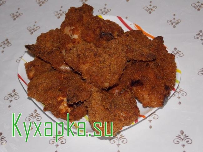 Куриные крылышки в панировке на Kyxapka.su
