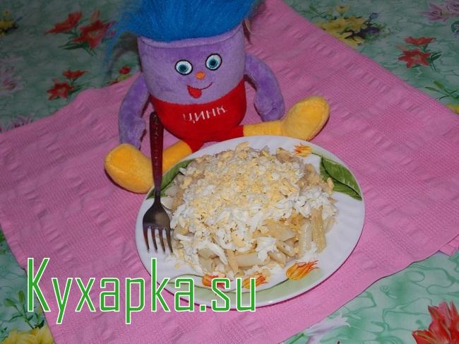 Макароны с сыром и яйцом на Kyxapka.su