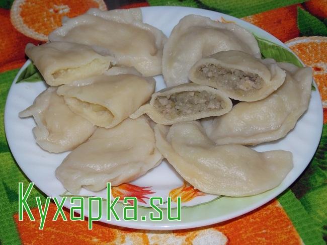 Украинские вареники с картофелем на Kyxapka.su