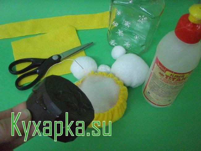 Как изготовить баночку для сладостей на Kyxapka.su