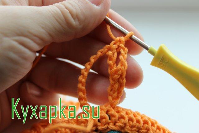 Прихватки с крючком: Рыжие совы для кухни на Kyxapka.su