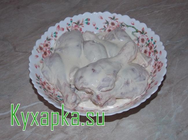 Куриная голень в панировке на Kyxapka.su