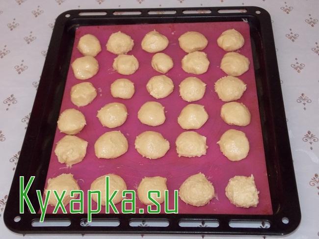 Хрустящее кокосовое печенье на Kyxapka.su