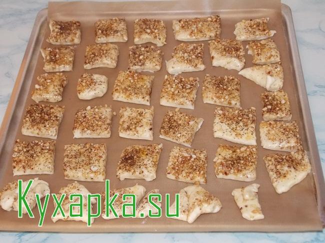 Пресное печенье на сметане на Kyxapka.su