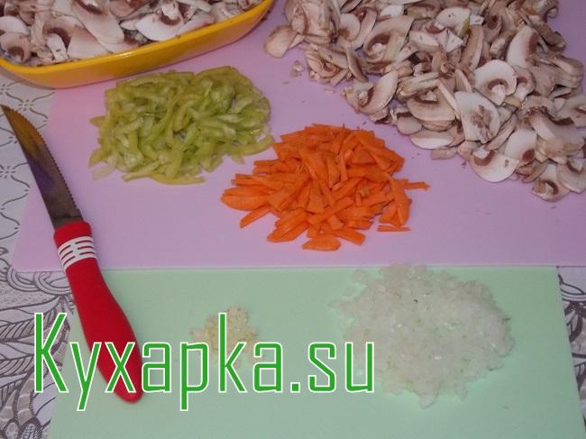 Грибной суп фасолью на Kyxapka.su