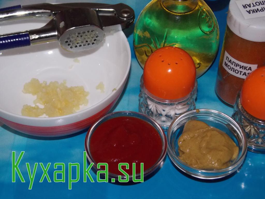Острые чесночные сухарики на Kyxapka.su