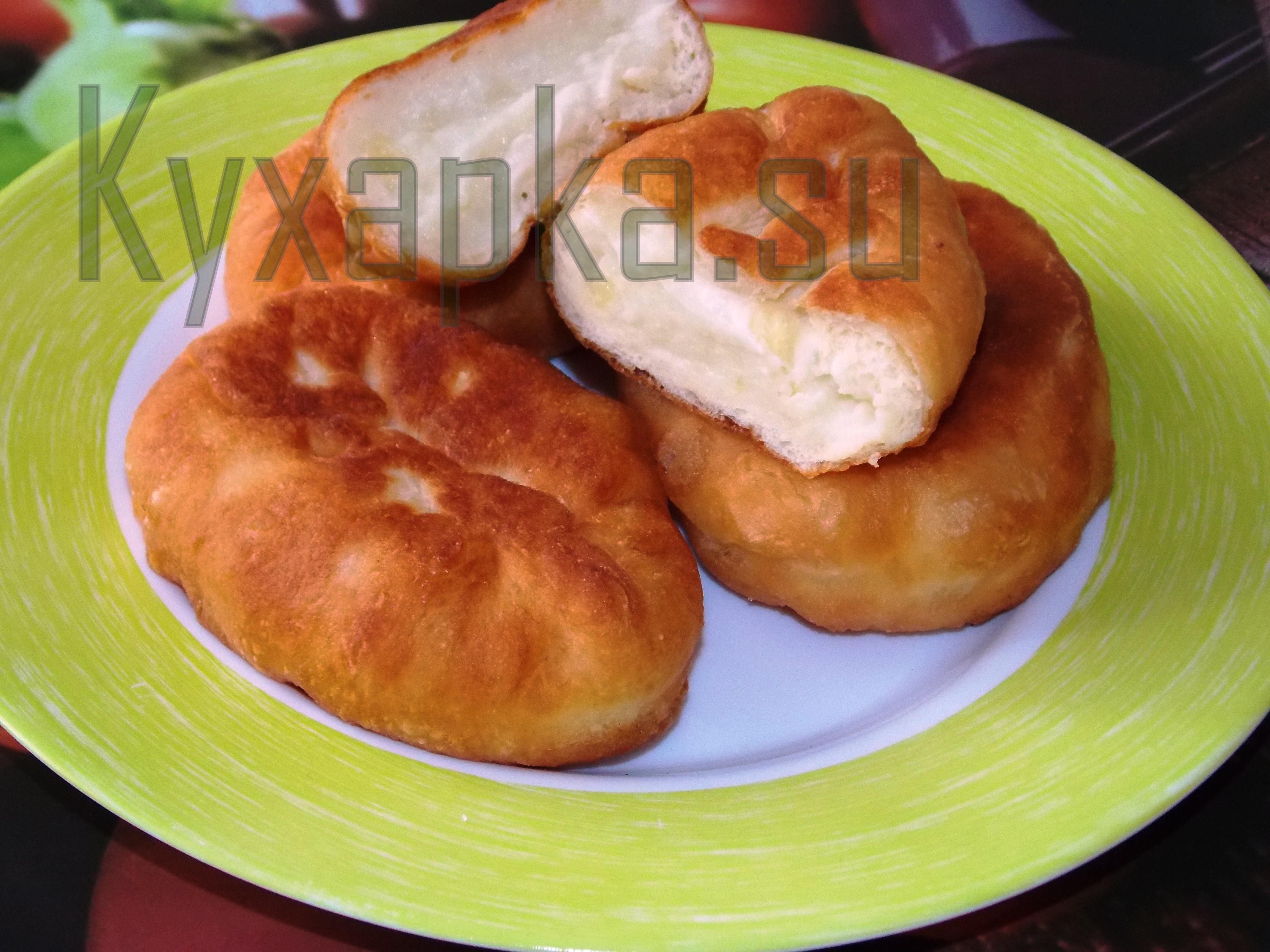 Жареные пирожки с картошкой фото kyxapka.su