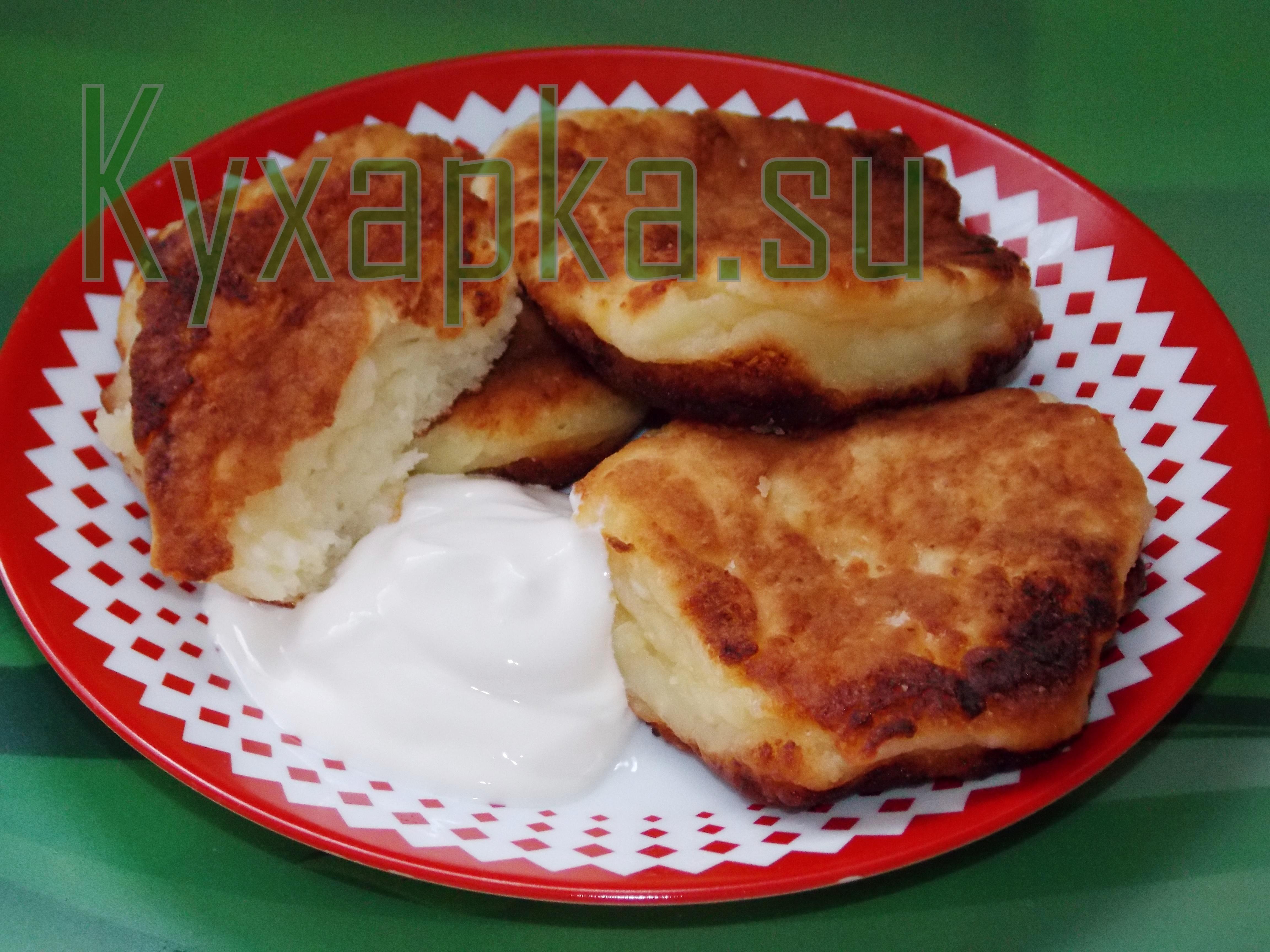 Сырники со сметаной фото kyxapka.su